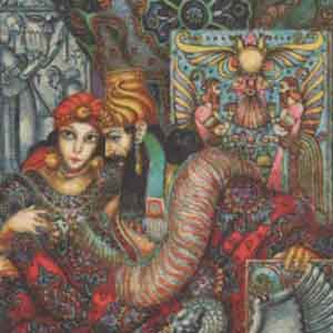 Le Livre d'Esther / illustrations de Arthur Szyk