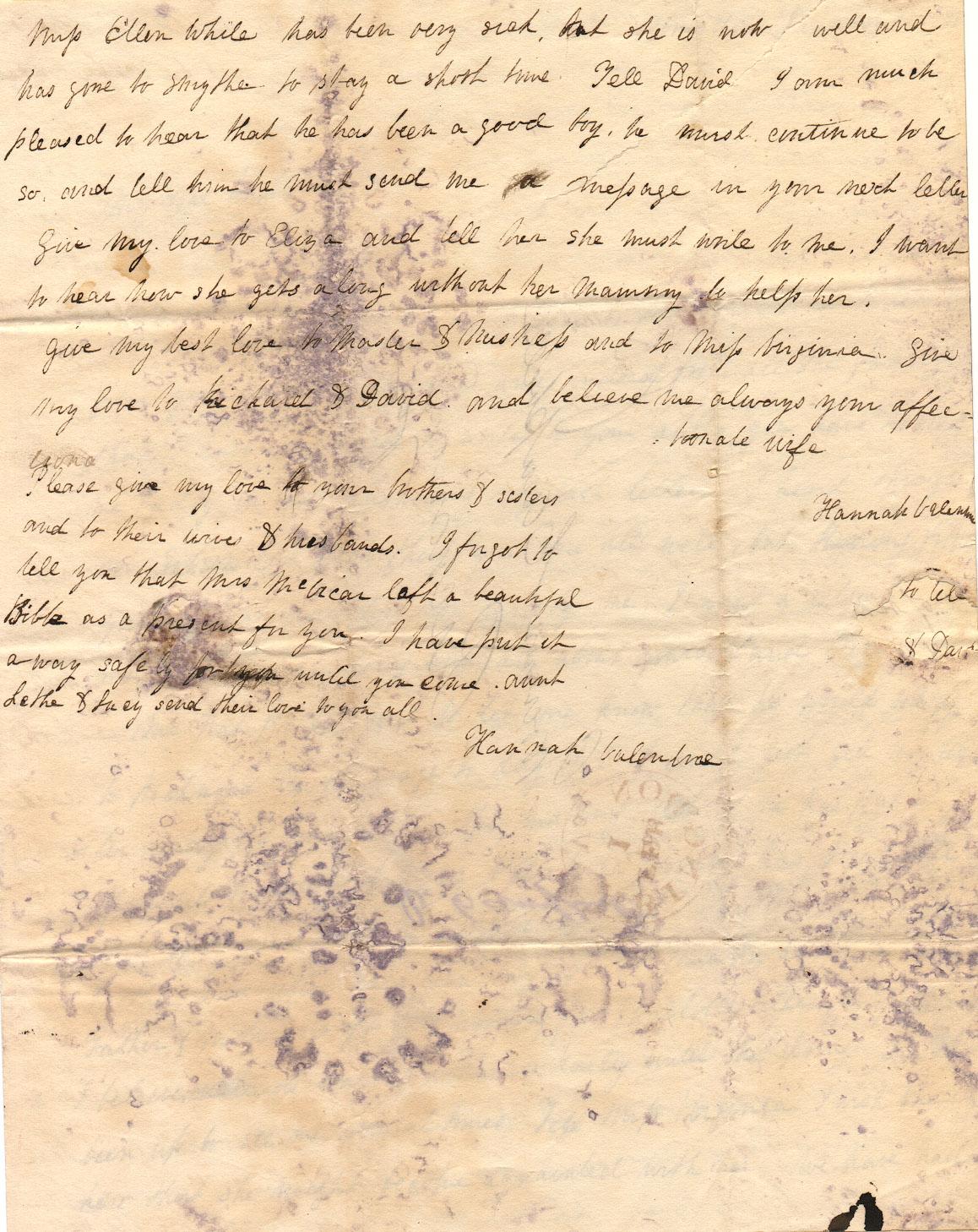 Valentine Letter 01 30 1838