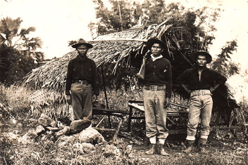 phil6-200 - Pinoy security guards in the early 1900s - Philippine Daily News