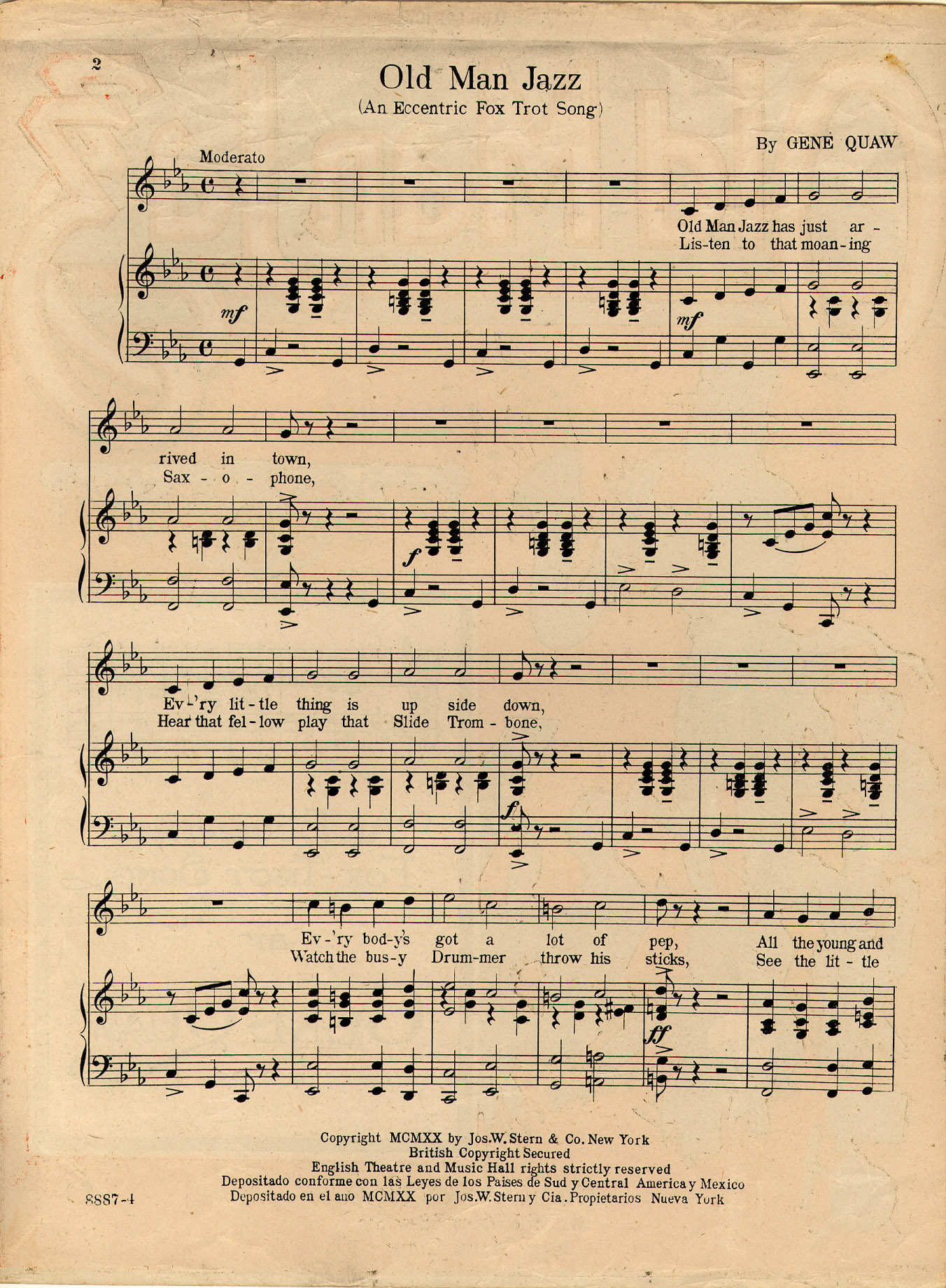 jazz sheet music