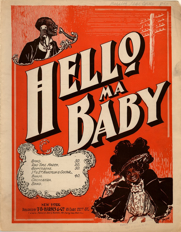 All Music Chords hello sheet music : Hello ma baby [Historic American Sheet Music]