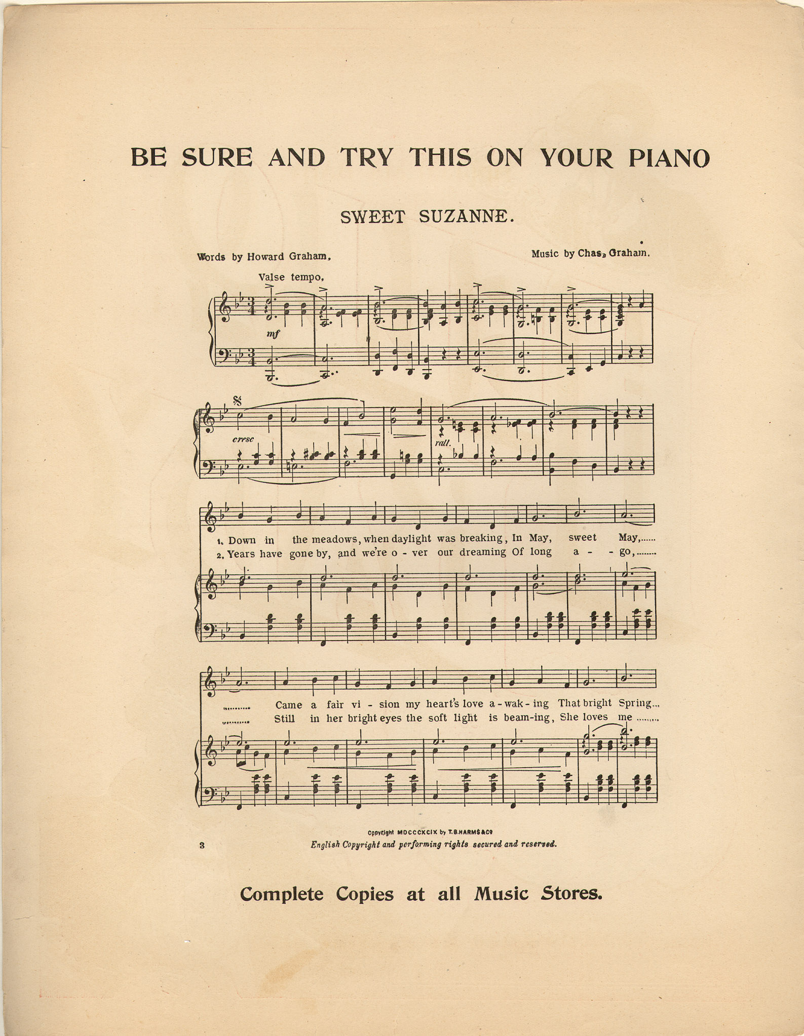 Hello ma baby [Historic American Sheet Music]