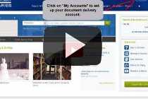 Thumbnail for How to Create a Document Delivery Account