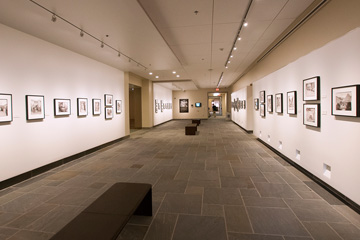 photo of exhibit space