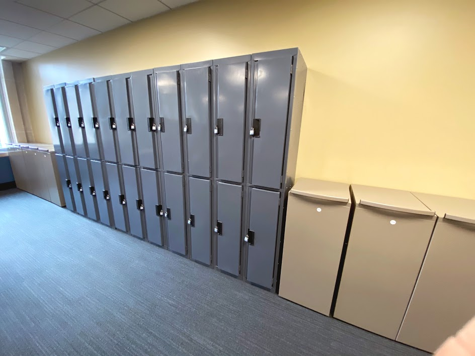 Lockers in the DRS